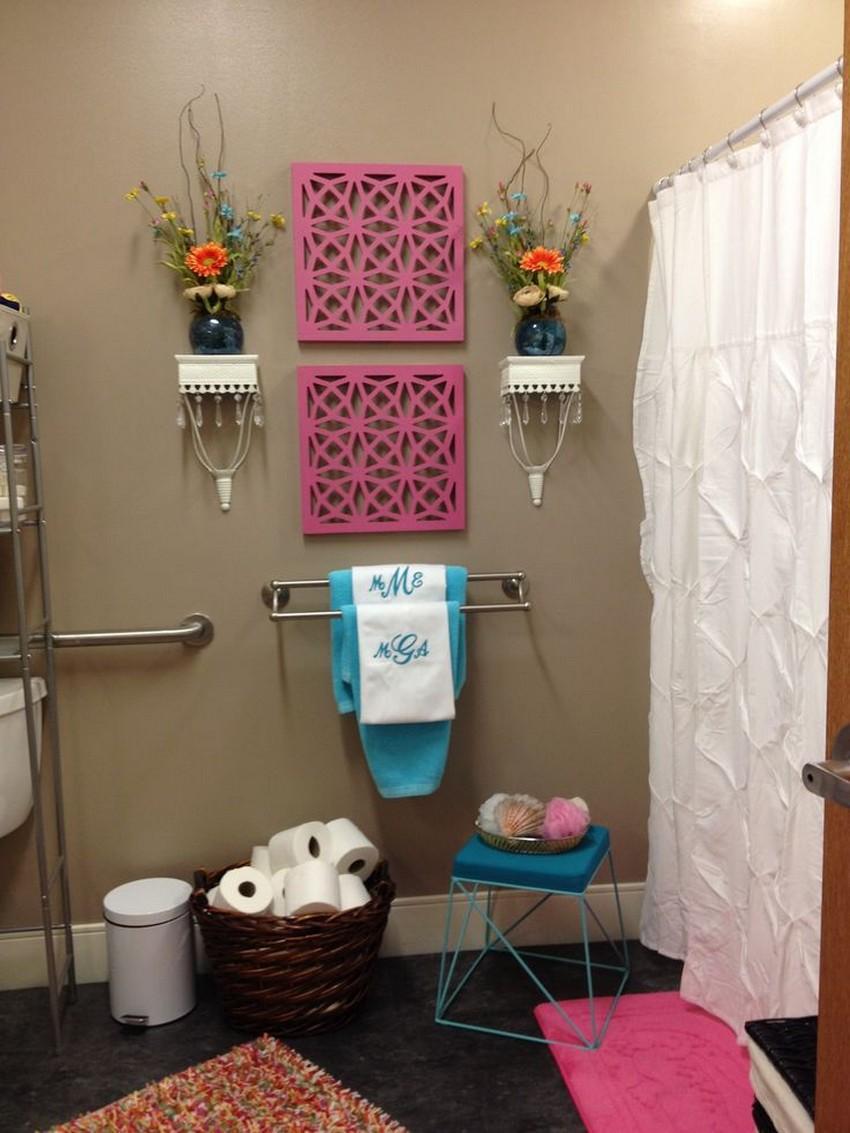 DIY Bathroom Wall Decoration Ideas