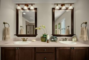 Framed Bathroom Vanity Mirrors with Lights