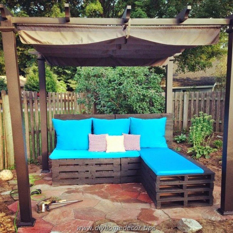 Pallet Outdoor Sectional Couch