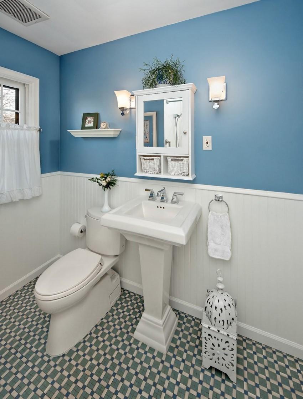 Traditional Bathroom Design Wall Decor Ideas