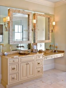Traditional Bathroom Vanity Mirror