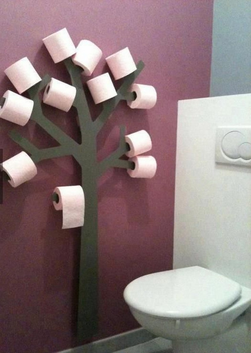 Wall Tree Bathroom Wall Decor