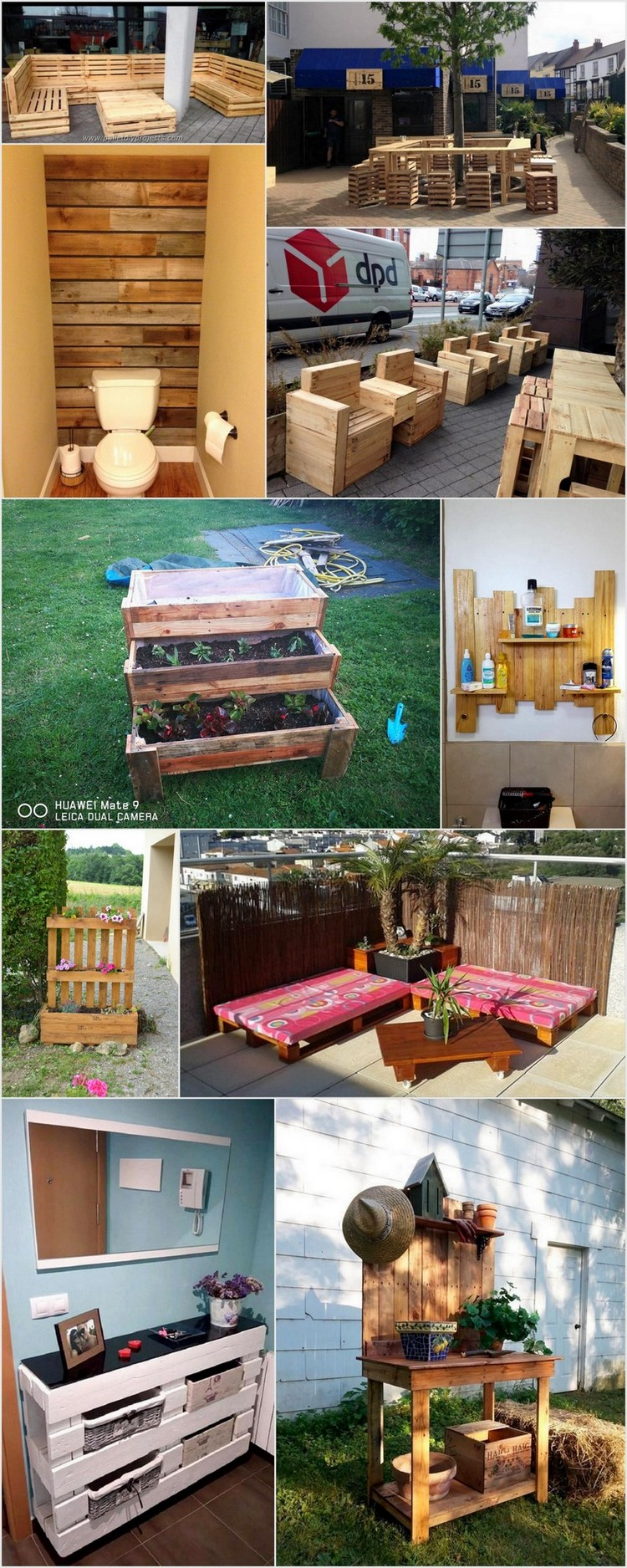 Ideas to Recycle Pallets Wood