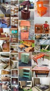 25 Creative Ideas for Wood Pallet Reusing