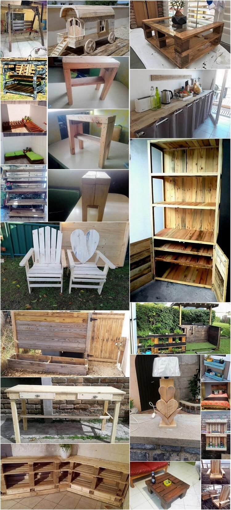 Amazing Ways to Transform Old Pallets into Unique Things