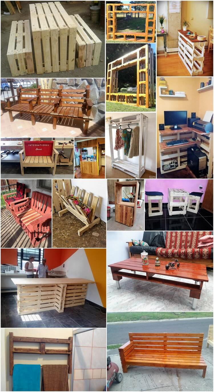 Awesome Creations with Old Shipping Pallets