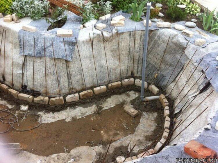 Creating Garden Pond