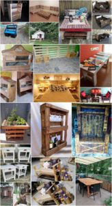 Creative Ways to Use Shipping Wood Pallets to Decor Your Home