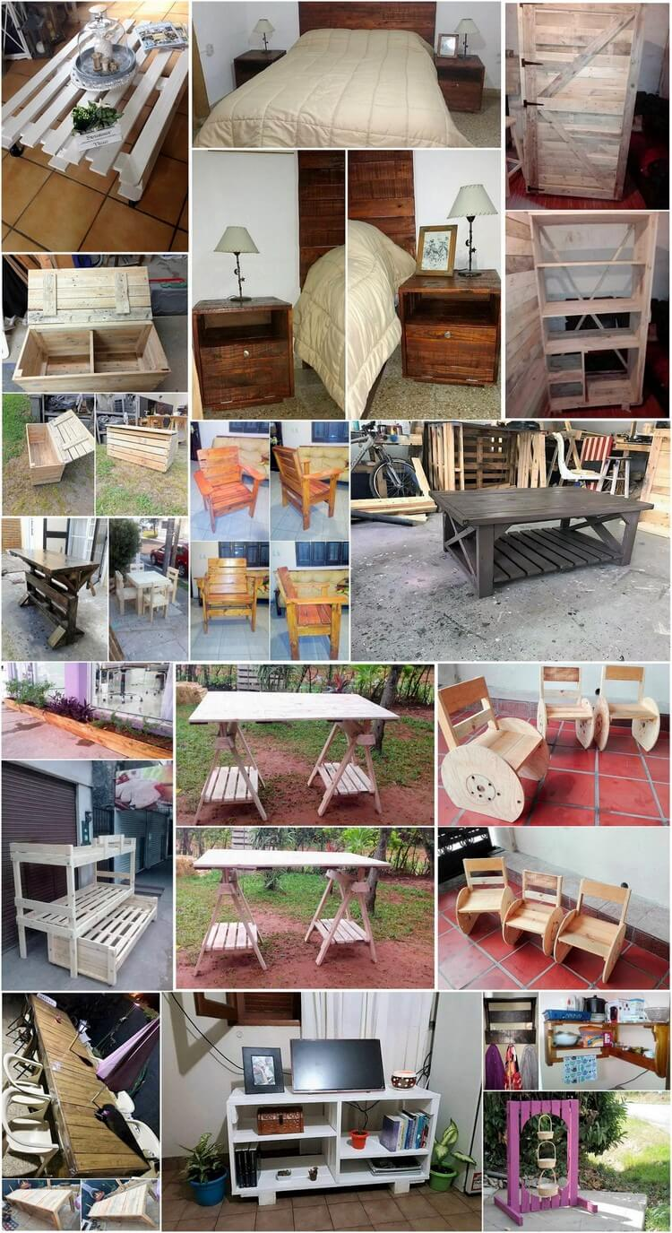 Easy DIY Ideas to Repurpose Old Wood Pallets