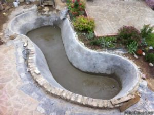Garden Pond Making