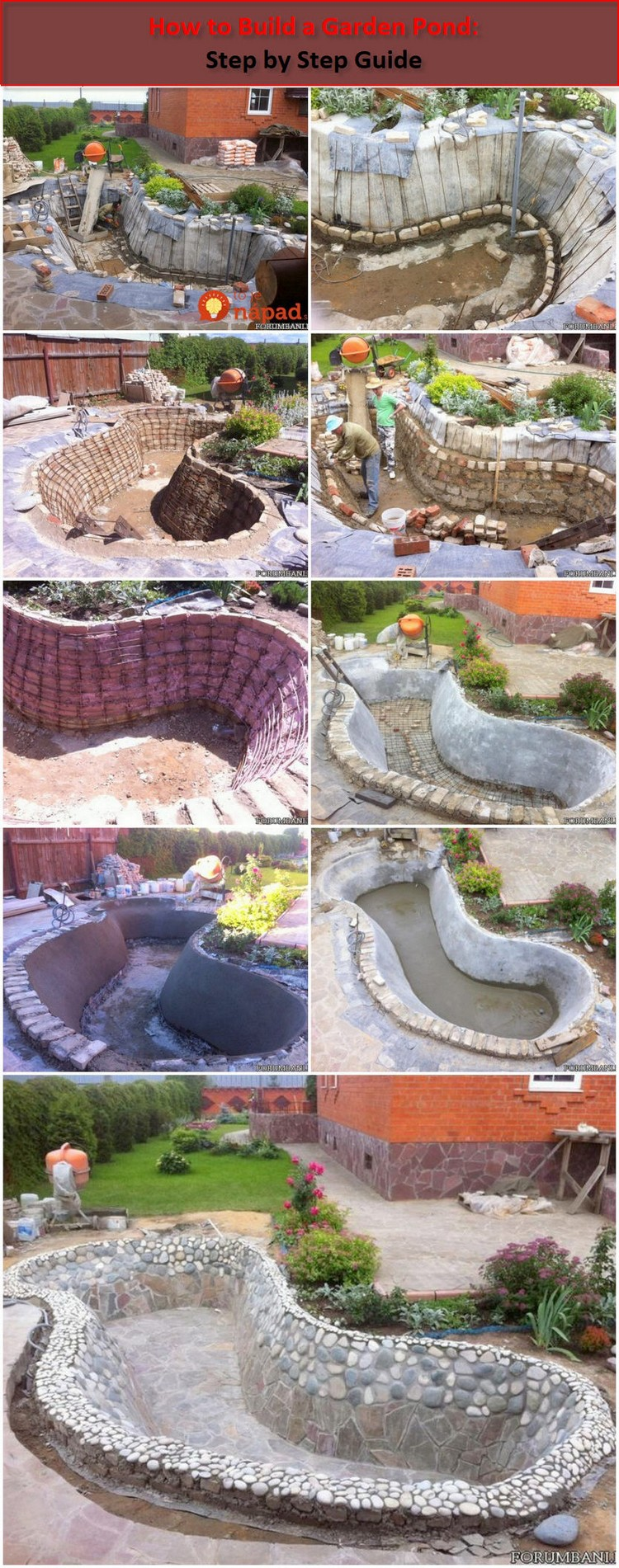 How to Build a Garden Pond Step by Step Guide