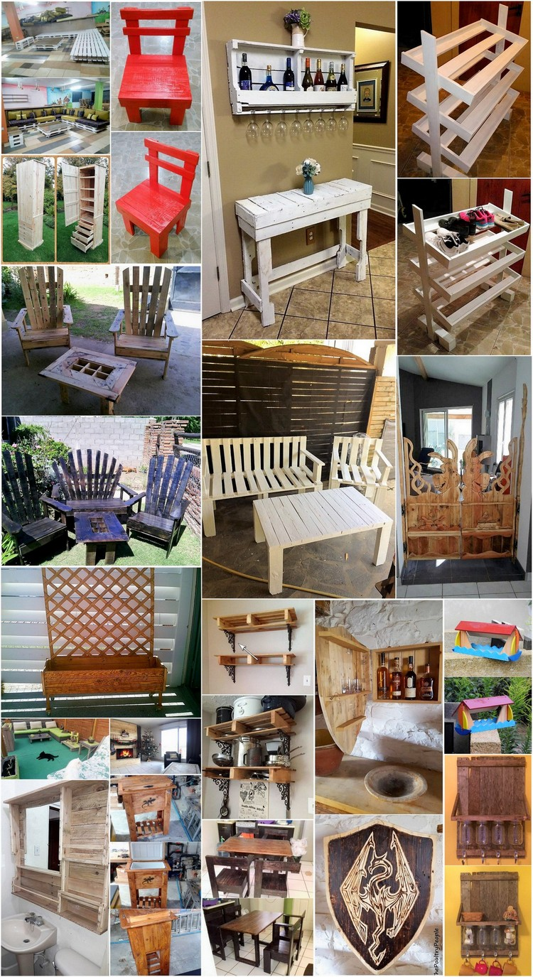 Innovative Ideas to Repurpose Old Wooden Pallets