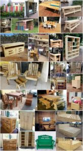 Modernize Creations with Reused Shipping Pallets