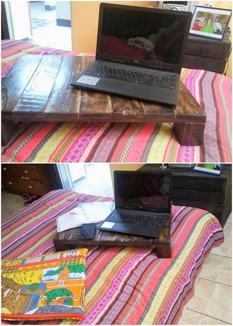 Pallet Mini Table for Laptop
