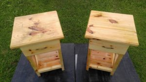 Pallet Nightstands - Side Tables