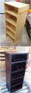 Pallet Small Shelving Unit