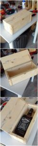Pallet Wine Storage Box