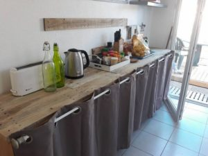 Recycled Pallet Creation for Kitchen