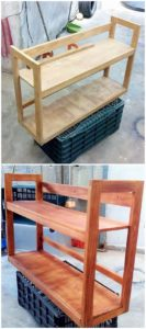 Recycled Wooden Pallet Creation