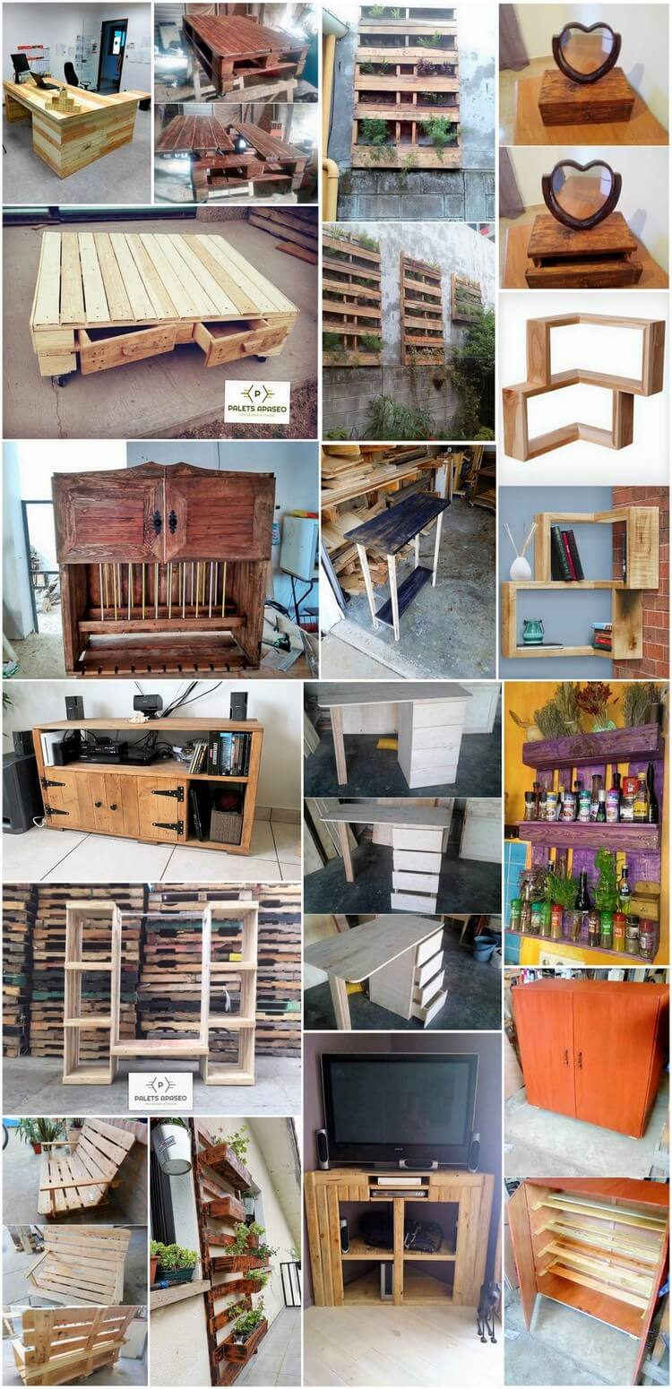 Splendid Ideas with Recycled Wood Pallets