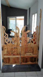 Unique Pallet Door