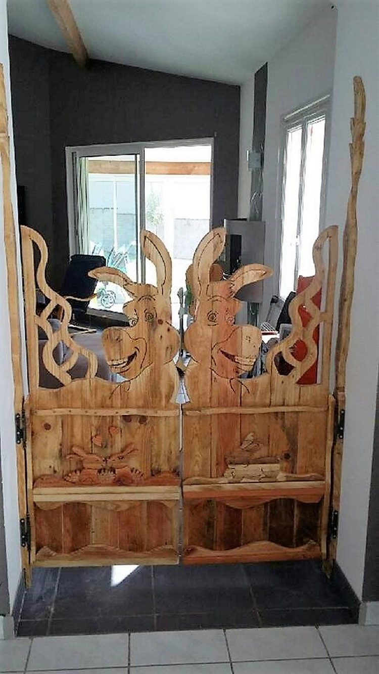 Unique Pallet Door
