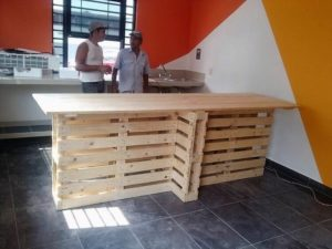 Wood Pallet Kitchen Island Table