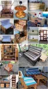Amazing Ideas to Recycle Used Wood Pallets