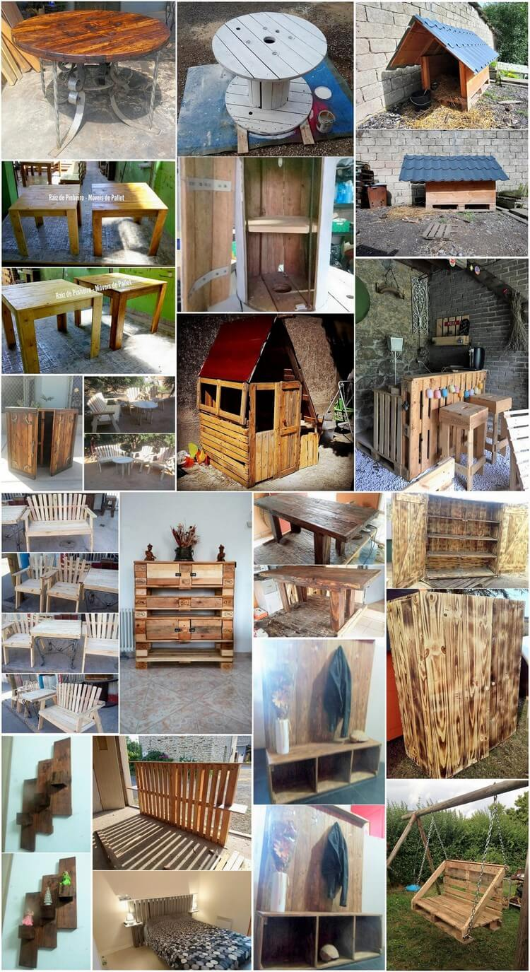Dreamy Pallet Ideas to Reuse Used Wood Pallets