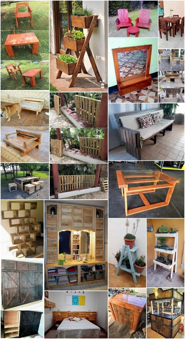 Easy and Inexpensive Ways to Upcycle Old Wooden Pallets