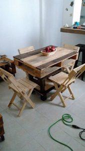 Pallet Dining Furniture Set for Kids