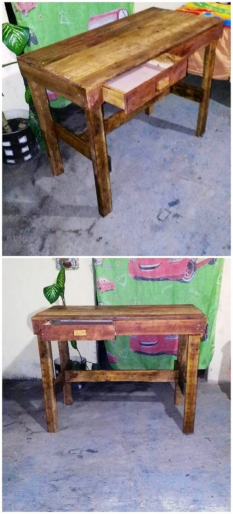 Pallet Office Table or Study Table