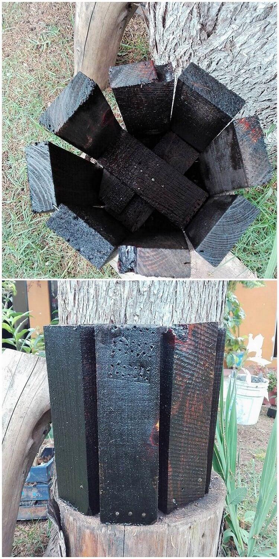 Pallet Planter Pot