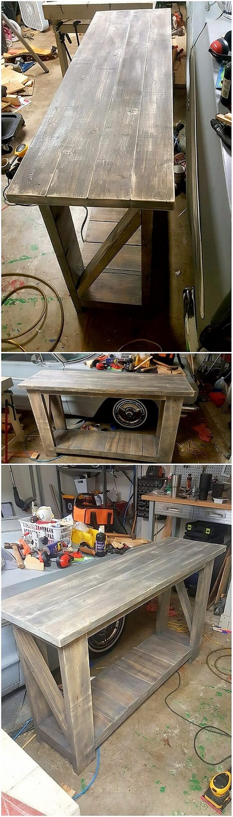 Recycled Pallet Table (2)