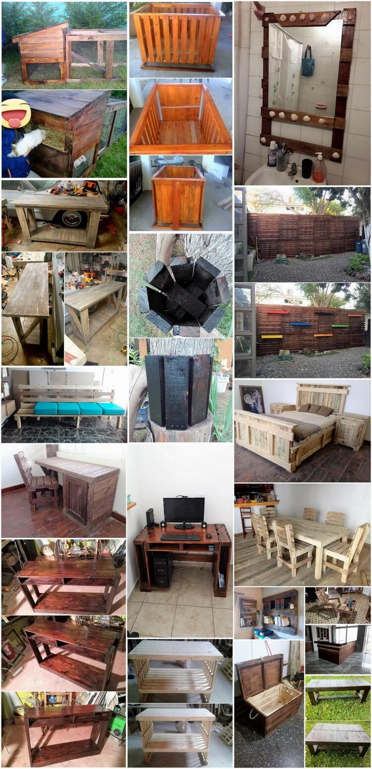 Recycling Ideas for Old Shipping Wood Pallets