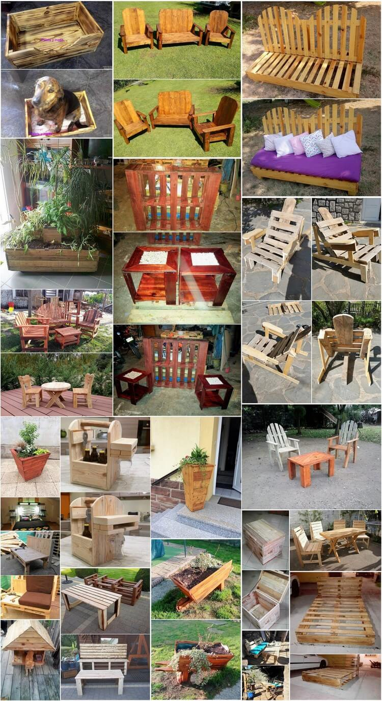 Awesome Wood Shipping Pallets Reusing Ideas for Your Home