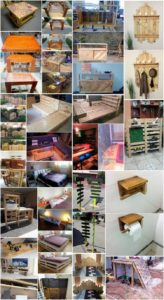 Innovative Ideas to Make Amazing Things Using Shipping Pallets
