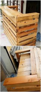 Pallet Counter Table
