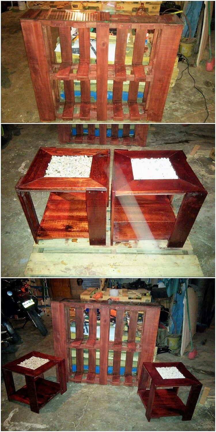 Pallet Creation and Stools