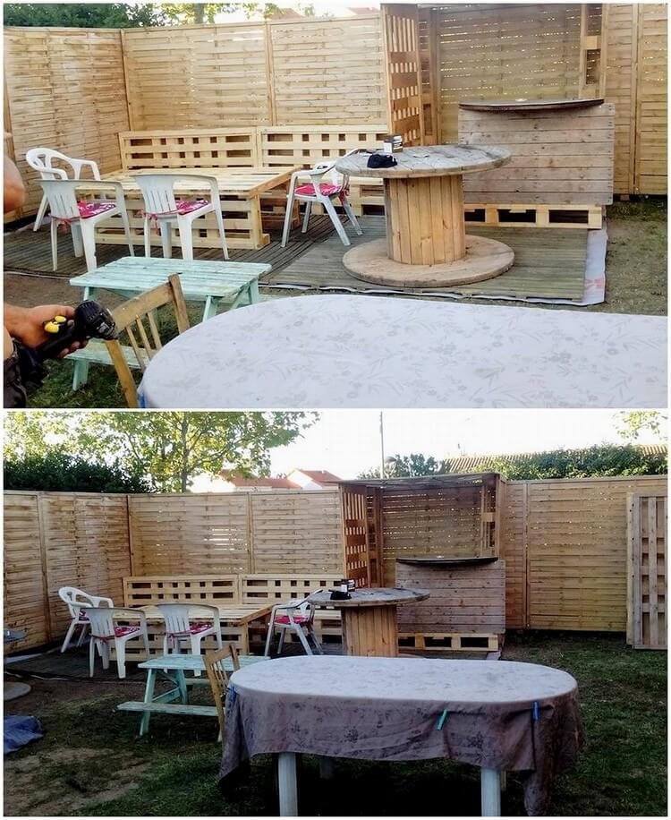 Pallet Outdoor Creation
