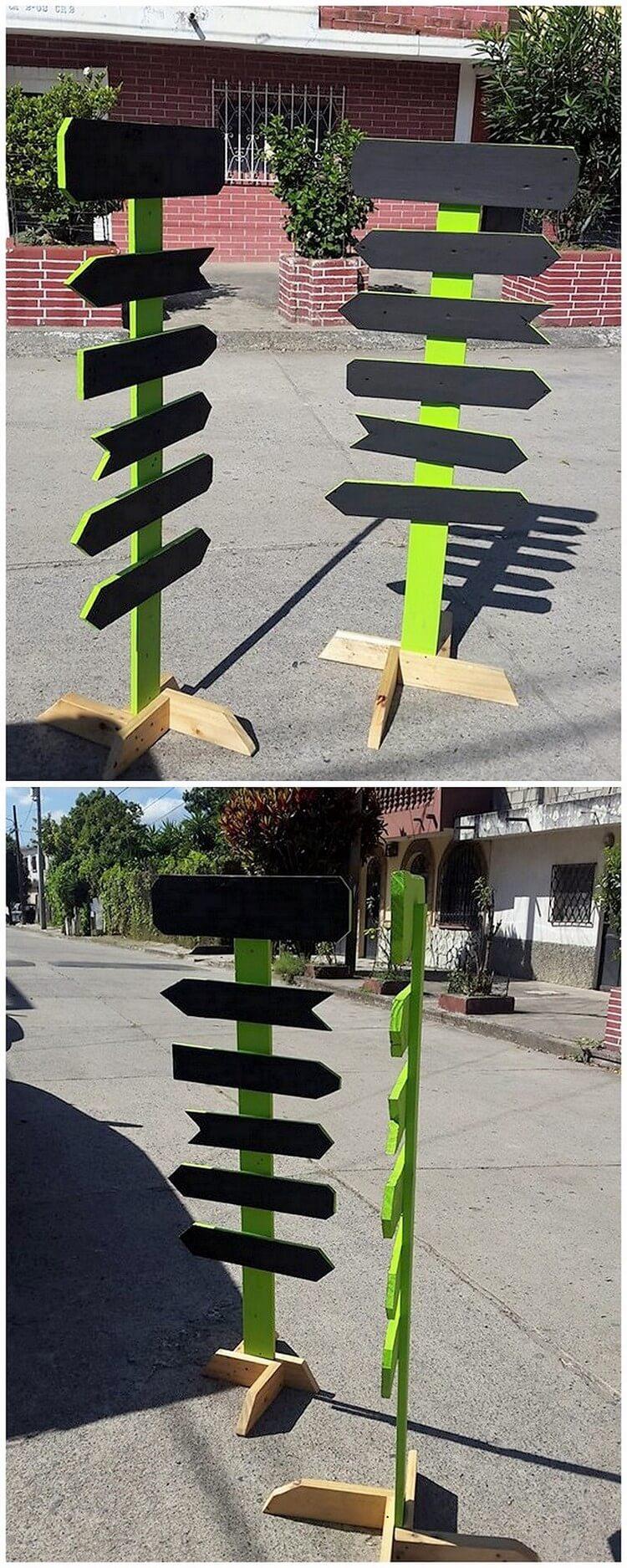 Pallet Signboards