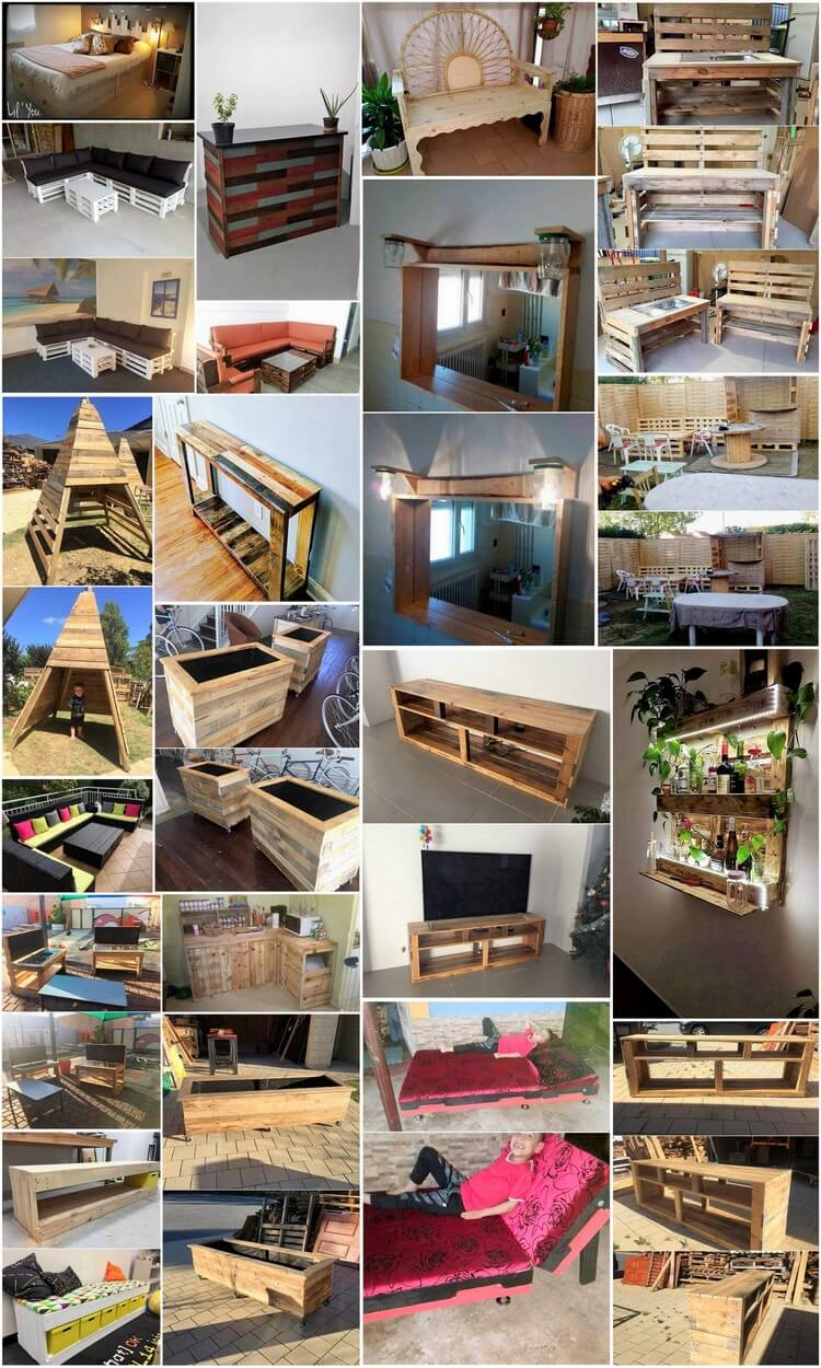 Wonderful Ideas for Recycling Shipping Wood Pallets