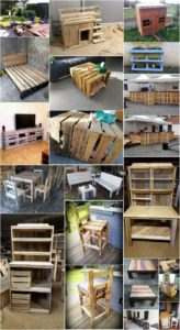 Cheap and Easy to Make Projects with Old Wooden Pallets