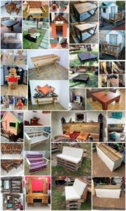 Fantastic Ideas for Repurposing Used Shipping Wood Pallets