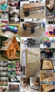 Imaginative DIY Wood Pallet Recycling Ideas