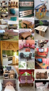 Low Cost DIY Wood Pallet Crafts That are Easy to Make