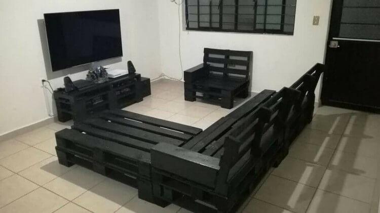 Pallet Lounge Furniture Set