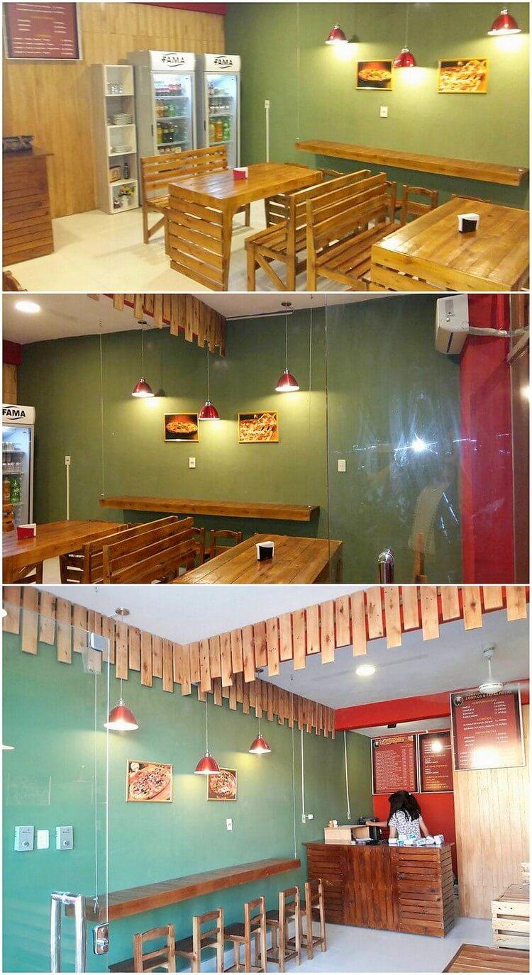 Pallet Restaurant Furniture Set