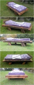 Pallet Single Bed