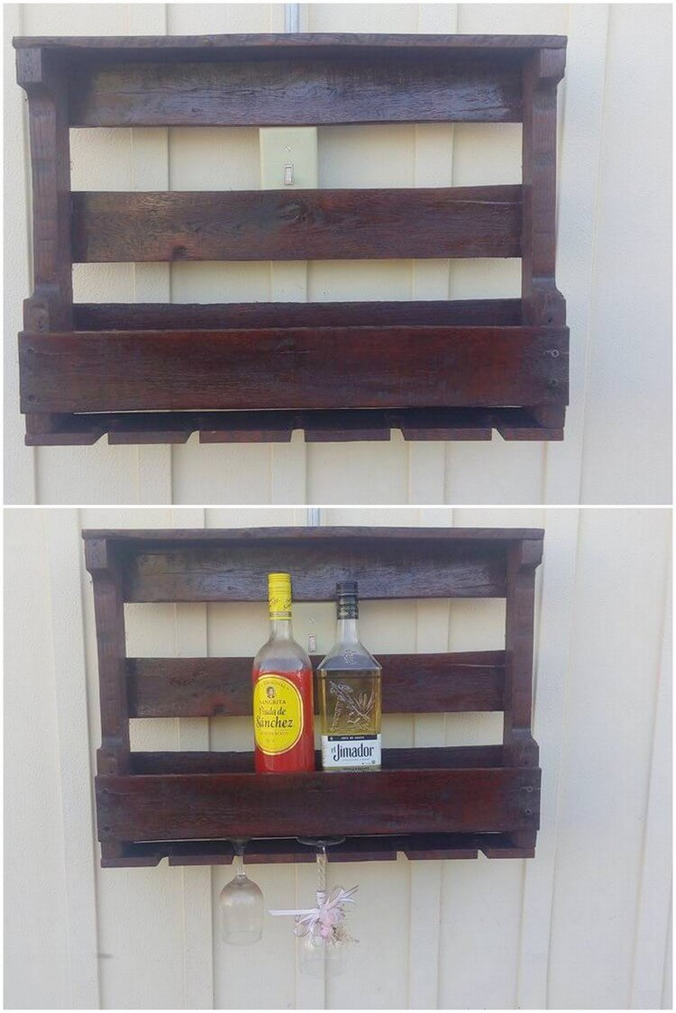 Pallet Wall Rack or Shelf